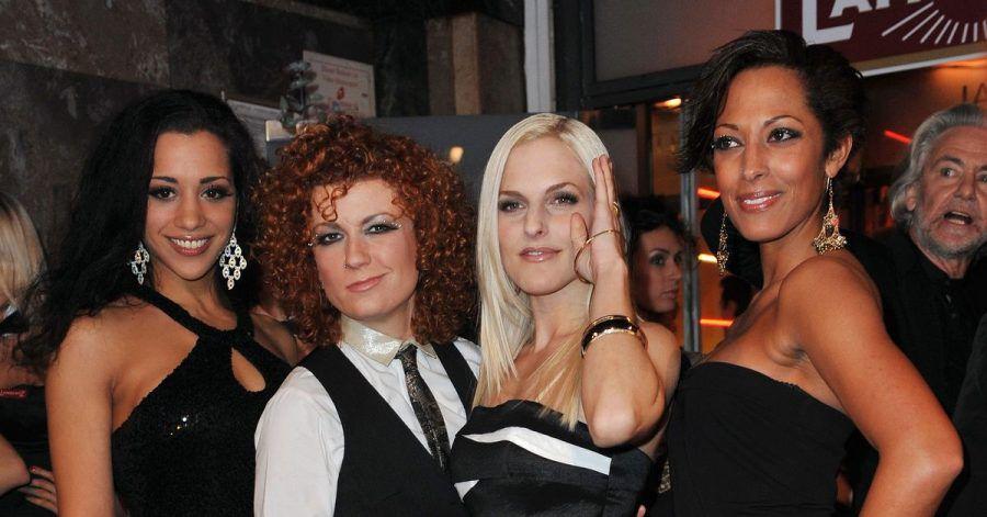 Nadja Benaissa (l-r), Lucy Diakowska, Sandy Mölling und Jessica Wahls: Die NoAngels sind jetzt zu viert.