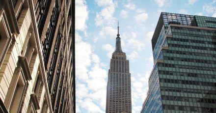Die Spitze des Empire State Buildings in New York soll am Valentinstag in Pink leuchten.