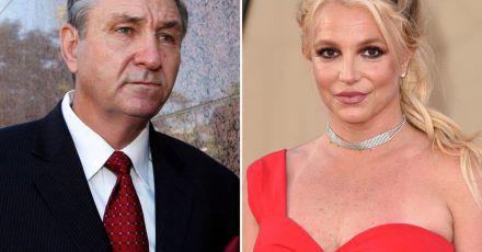 Im Rechtsstreit mit ihrem Vater Jamie Spears (l.) hat US-Popsängerin Britney Spears einen Teilerfolg erzielt.