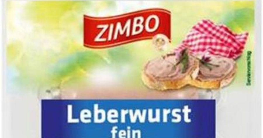 Weil die Kühlketten mehrere Tage unterbrochen waren, ruft Kaufland das Produkt «Zimbo Leberwurst fein» zurück.