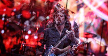 Dave Grohl von der Rockband Foo Fighters.