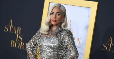 Lady Gaga bei der Premiere von «A Star is Born» in Los Angeles.