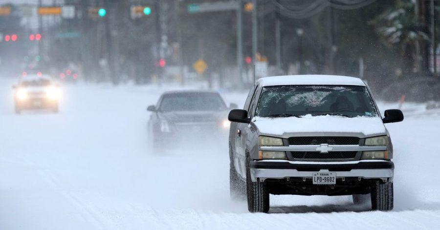 Im südlichen US-Bundesstaat Texas herrscht ungewöhnlich kaltes Winterwetter.