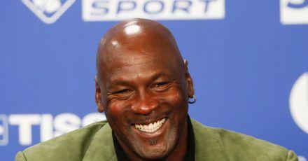 Michael Jordan ist sozial stark enagiert.