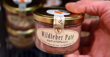 Die Wildleber-Pate stammt vom Städtischen Forstamt Baden-Baden und wird dort zum Verkauf angeboten.