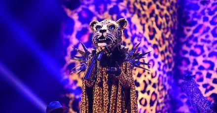 Die Figur «Leopard» in der ersten Folge der vierten Staffel der ProSieben-Show «The Masked Singer».