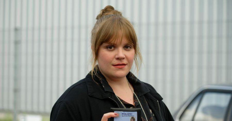 Die Schauspielerin Stefanie Reinsperger als Hauptkommissarin Rosa Herzog ermittelt in Dortmund.