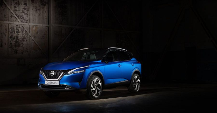 In Lauerstellung: Im Frühjahr will Nissan die dritte Generation des SUVs Qashqai auf den Markt bringen.