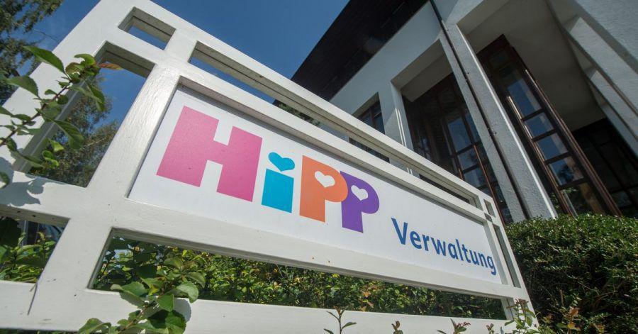 Die Firmenzentrale des Babynahrungherstellers Hipp im bayerischen Pfaffenhofen.