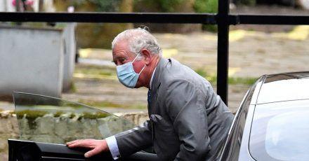 Prinz Charles bei seiner Ankunft am «King Edward VII Krankenhaus» in London.