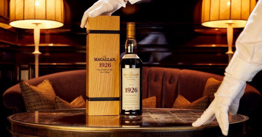 Eine Flasche des 60 Jahre alten «The Macallan 1926 Fine and Rare».