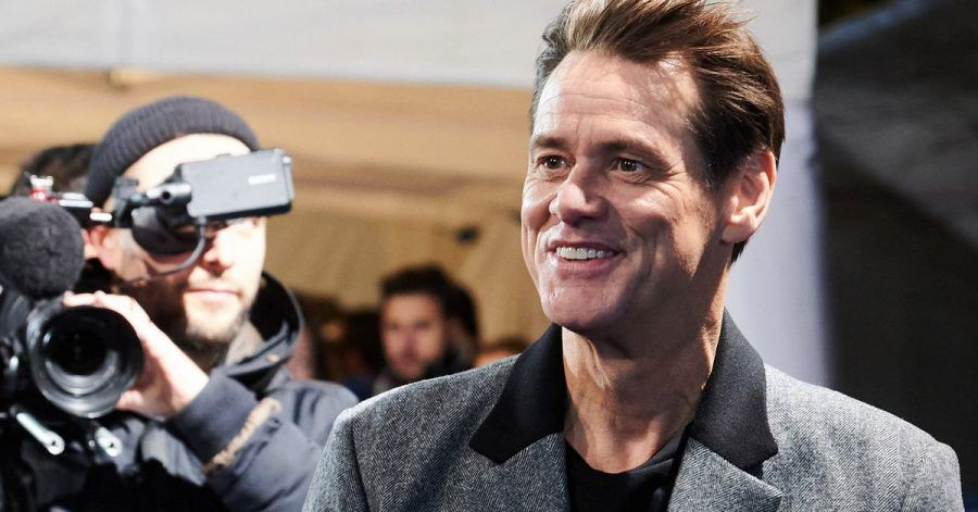 """Jim Carrey 2020 bei der Premiere von """"Sonic The Hedgehog"""" in Berlin."""