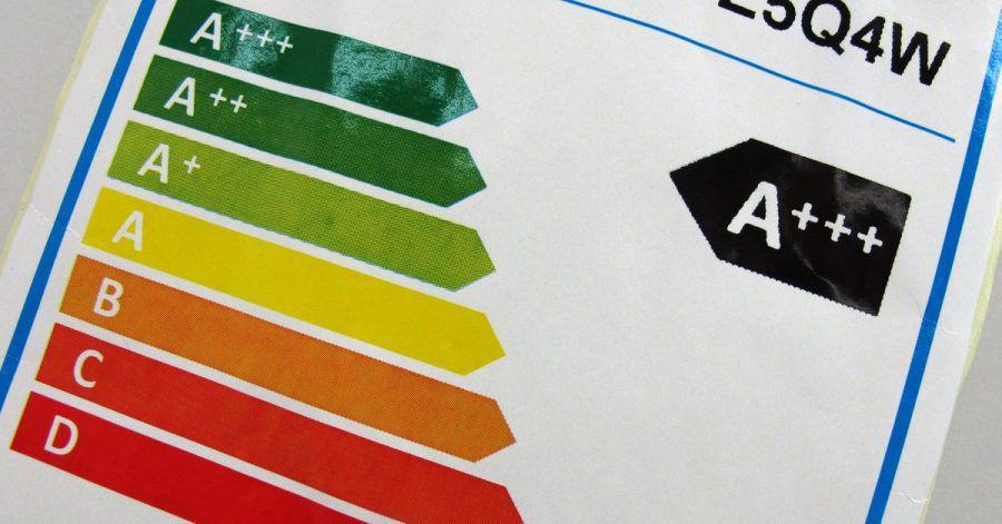 Bisherige Energieeffizienzklassen: Vom 1. März an gibt es für bestimmte Elektrogeräte neue Energielabels.