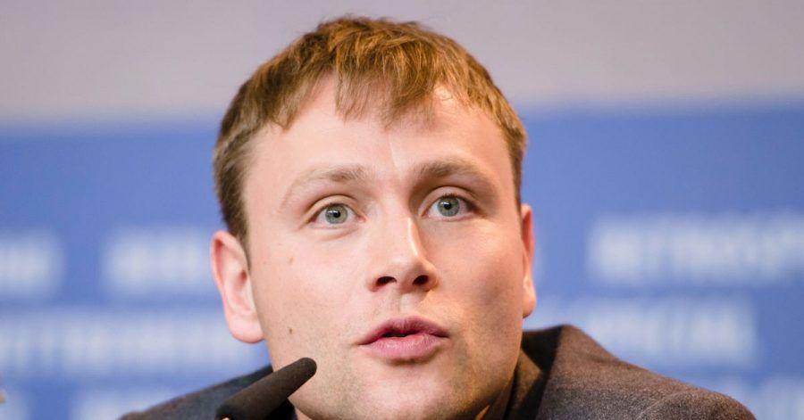 Schauspieler Max Riemelt auf der Berlinale 2017.