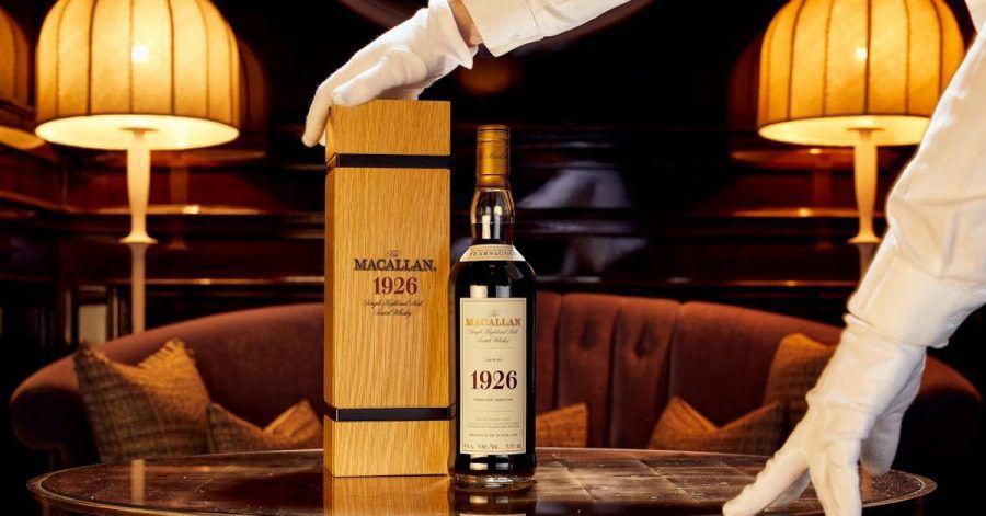 Millionen-Objekt:Ein Whisky der Marke «The Macallan 1926 Fine and Rare».