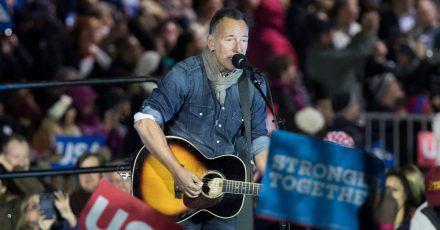 Auf der alljährlichen Playlist von Barack Obama hat Bruce Springsteen einen festen Platz.