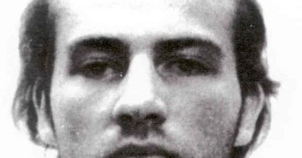 Fahndungs-Foto des Bundeskriminalamts nach dem flüchtigen Norman Volker Franz.