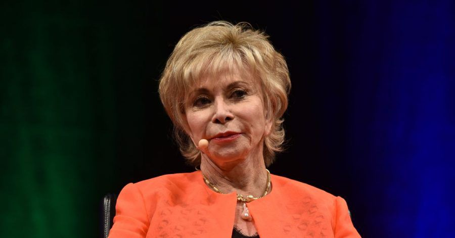 Isabel Allende 2019 beim Literatur-Festival Lit.Cologne.