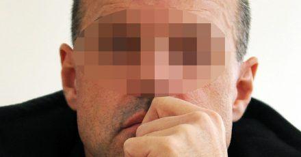 Der damals Angeklagte Thomas Drach am 13.10.2011 im Saal 288 des Landgerichts Hamburg.