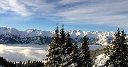 Der Nationalpark Hohe Tauern bietet auch im Winter traumhafte Panorama-Aussichten.
