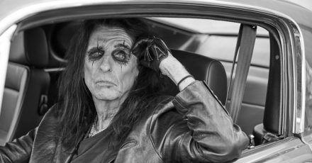 Alice Cooper liebt es, unterwegs zu sein.