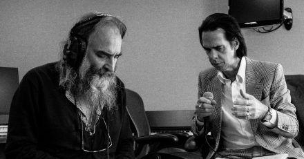 Seit vielen Jahren ein eingespieltes Team:Warren Ellis und Nick Cave.