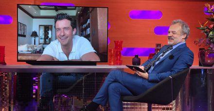 Orlando Bloom bei der Aufzeichnung der «Graham Norton Show».