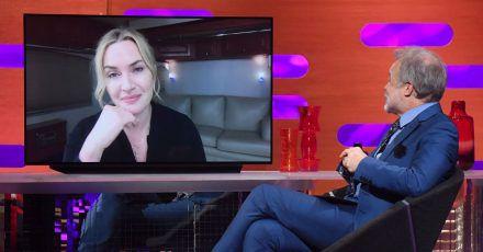 Kate Winslet erzählt in der «Graham Norton Show», wie sie sich fühlt.