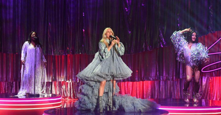 Ellie Goulding tritt in der «Graham Norton Show» auf.