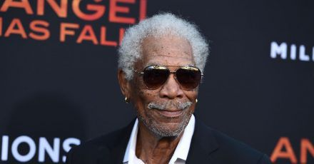 Morgan Freeman bei der Premiere des Films «Angel Has Fallen» 2019 in Los Angeles.