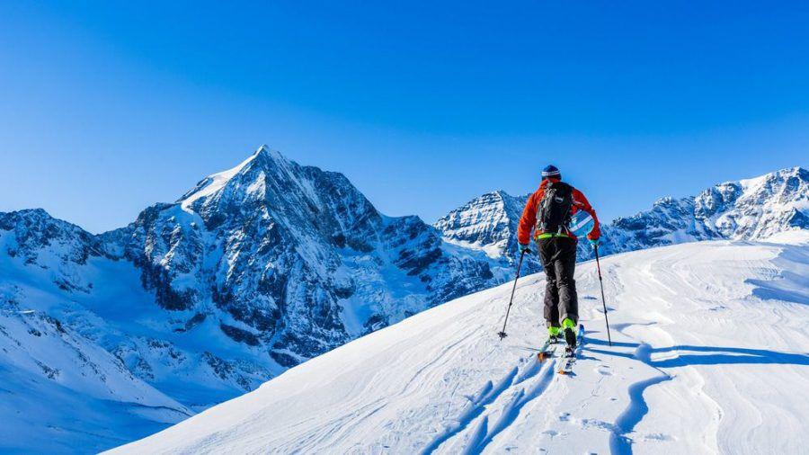 Beim Skitourengehen ist man oft allein in der Natur unterwegs. (amw/spot)