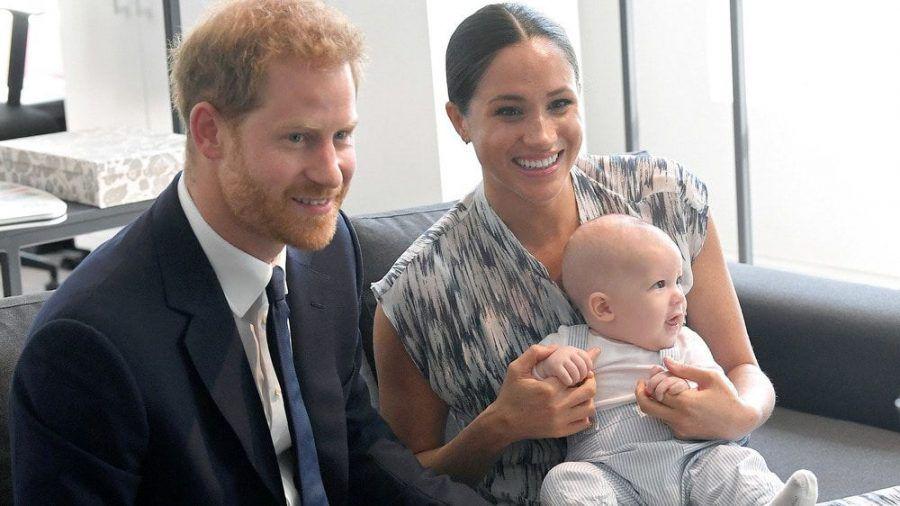 Herzogin Meghan mit Ehemann Prinz Harry und Sohn Archie im September 2019 in Kapstadt. (jom/spot)