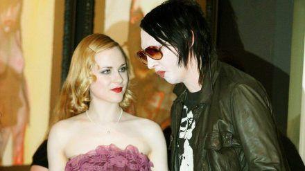 Evan Rachel Wood und Marilyn Manson im Jahr 2007. (jom/spot)