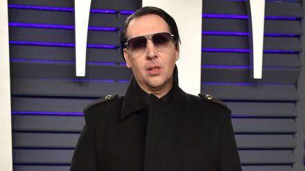 Marilyn Manson bei einem Event in Beverly Hills (hub/spot)