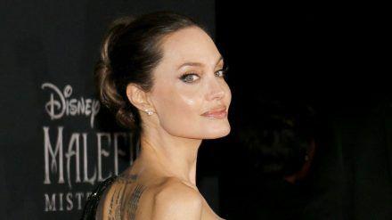 Angelina Jolie bei einem Auftritt in Hollywood. (hub/spot)