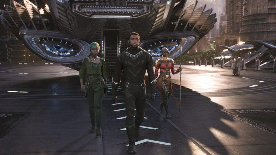 """Mit """"Black Panther"""" wurde der 2020 verstorbene Chadwick Boseman (M.) zum Superstar. (wag/spot)"""