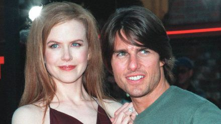 """Tom Cruise und Nicole Kidman 1999 bei der Premiere ihres Films """"Eyes Wide Shut"""". (hub/spot)"""