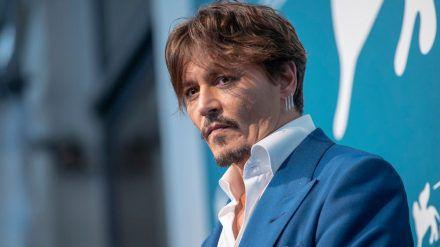 Johnny Depp bei einem Auftritt in Venedig. (hub/spot)