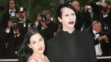 Marilyn Manson und Dita Von Teese waren von 2005 bis 2007 verheiratet und insgesamt sieben Jahre lang ein Paar (stk/spot)