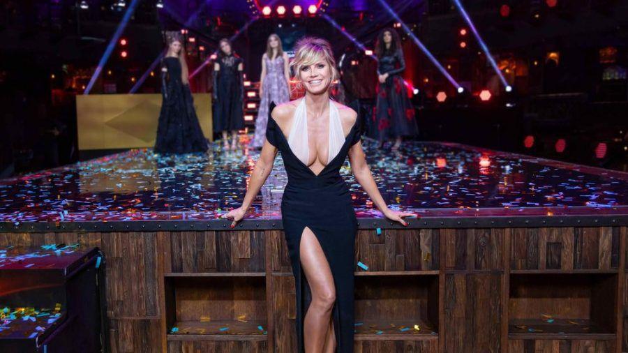 """Die neue """"Germany's next Topmodel""""-Staffel von und mit Heidi Klum startete mit einem Quotenerfolg. (ili/spot)"""