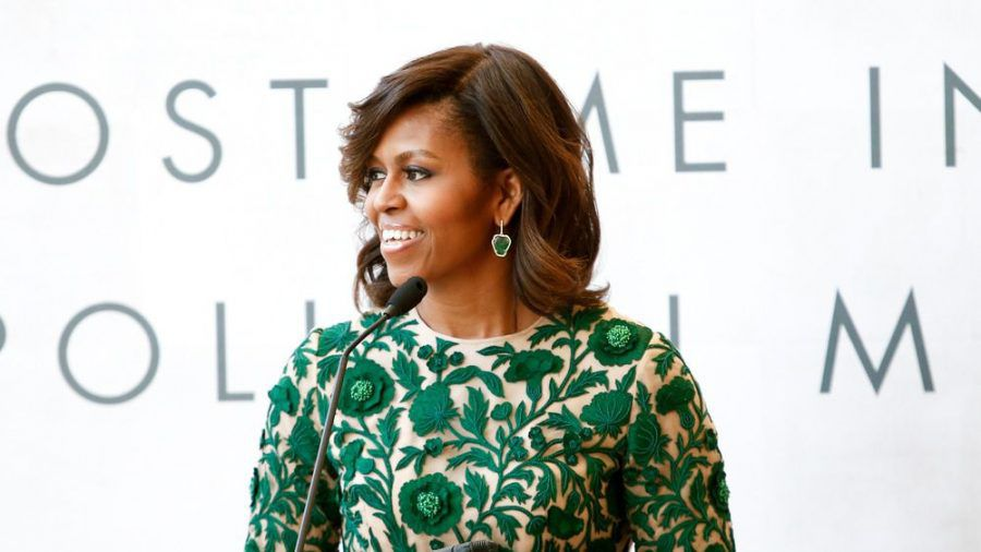 Michelle Obama freut sich über den Erfolg von Amanda Gorman. (wag/spot)