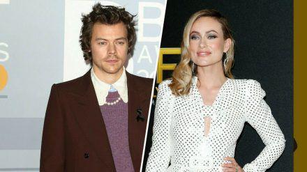 Harry Styles und Olivia Wilde drehen derzeit einen Film zusammen. (hub/spot)
