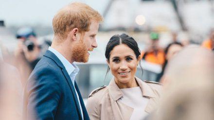 Prinz Harry und Herzogin Meghan 2018 in Neuseeland. (mia/spot)