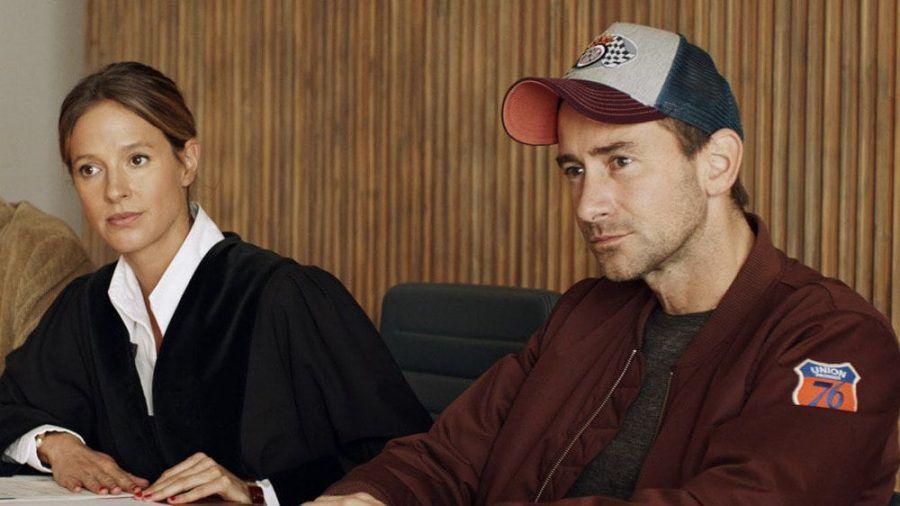 """""""Der Beischläfer"""": Auf Richterin Dr. Julia Kellermann (Lisa Bitter) und Charlie Menzinger (Harry G) warten neue Fälle. (cos/spot)"""