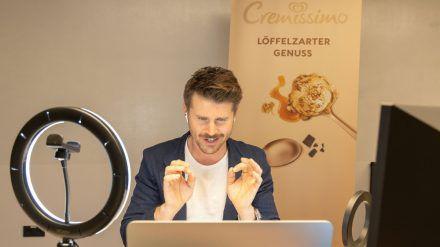Thore Schölermann gibt auch virtuell alles. (spot)