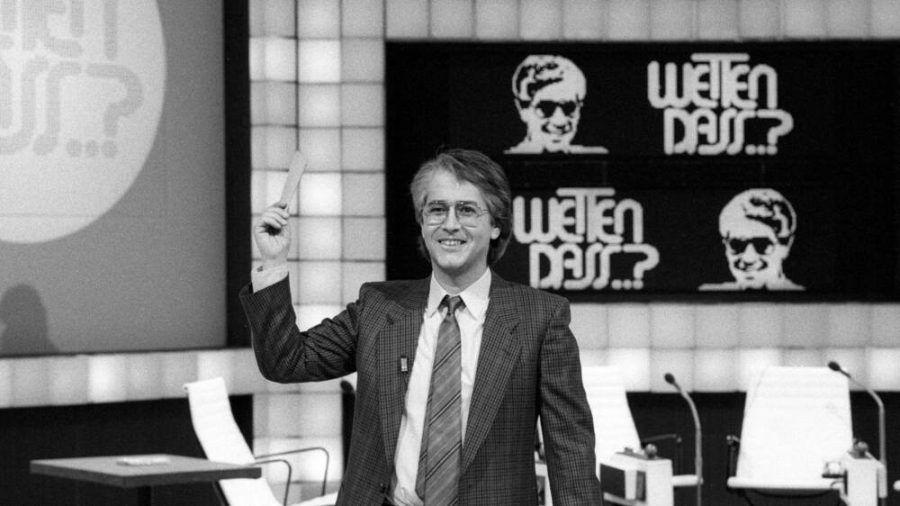"""Frank Elstner erfand und moderierte von 1981 bis 1987 die Unterhaltungsshow """"Wetten, dass..?"""" (ili/spot)"""