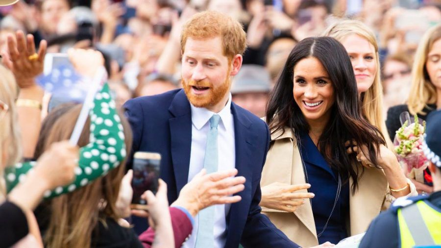 Prinz Harry und Herzogin Meghan 2018 in Australien. (ncz/spot)