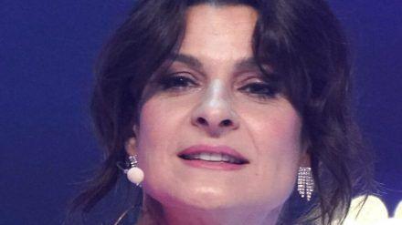 Marlene Lufens Talk am Montagabend kam nicht sonderlich gut an. (wue/spot)
