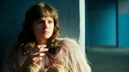 Jana McKinnon als Christiane F. (sob/spot)