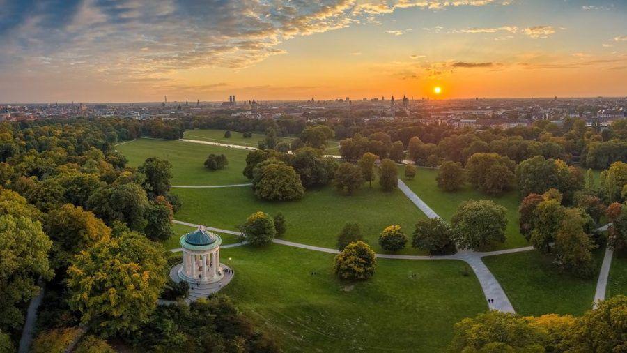 Blick über München - eine der gesündesten Landeshauptstädte in Deutschland. (sob/spot)